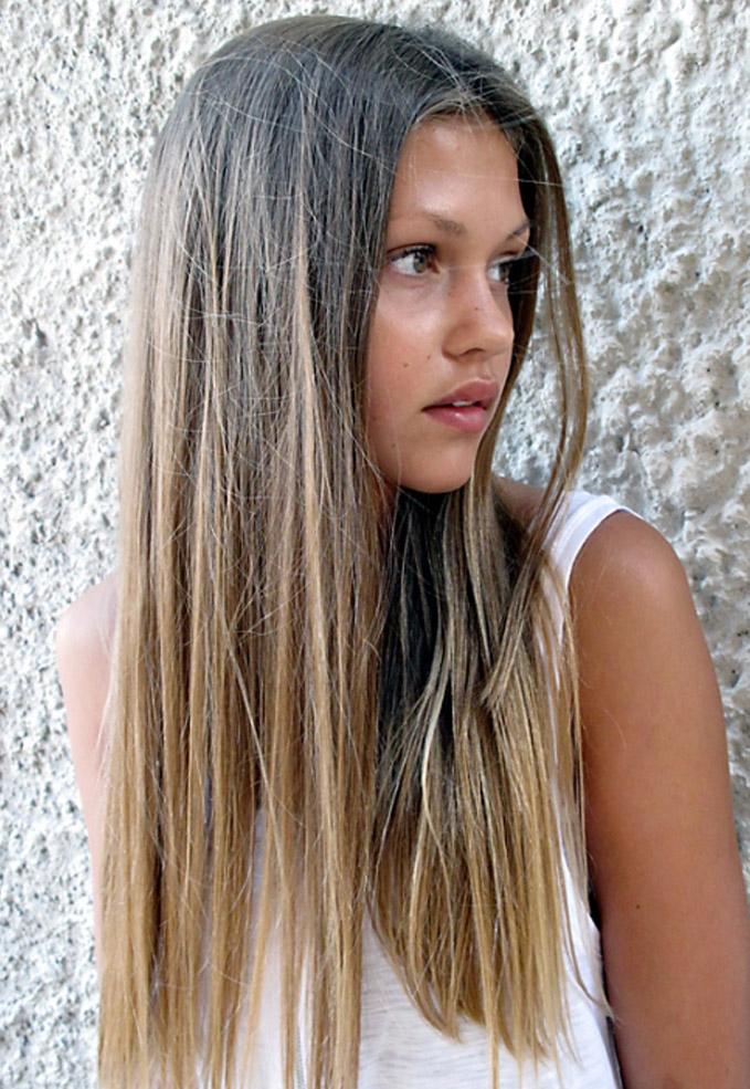 мелирования на русые волосы.